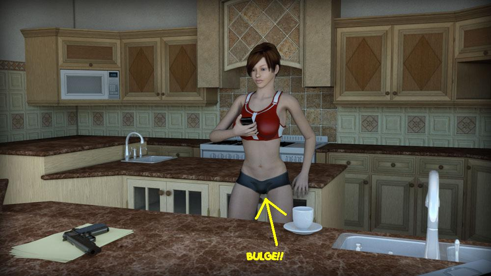 Boobs on xbox indie game