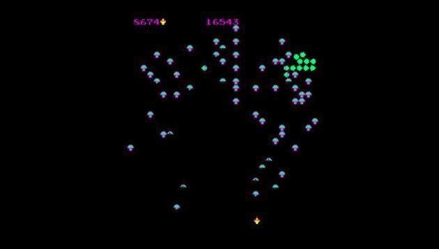 Centipede on PlayStation Home Arcade (Vita)