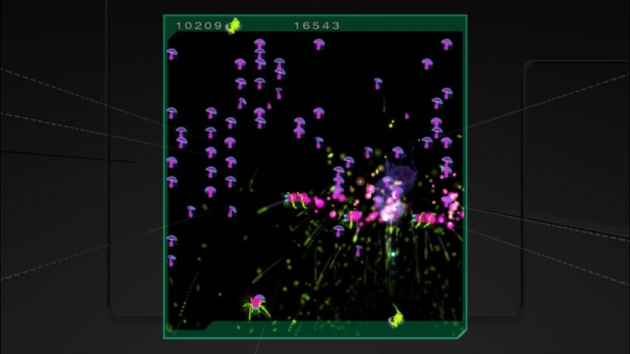 """The """"evolved"""" version of Centipede & Millipede on Xbox Live Arcade."""