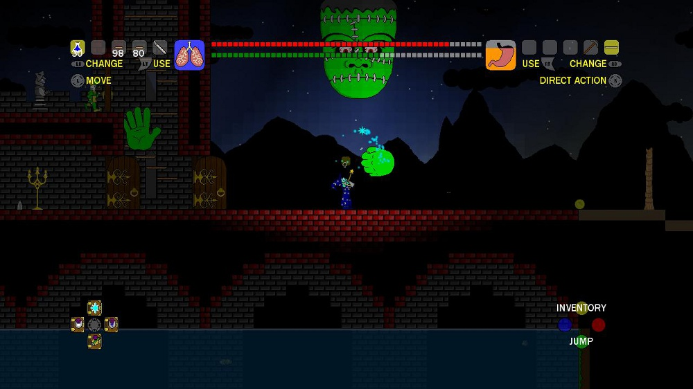 Hey look it\u0027s a giant disembodied head that attacks you with it\u0027s two disembodied hands  sc 1 st  Indie Gamer Chick : doors terraria - pezcame.com