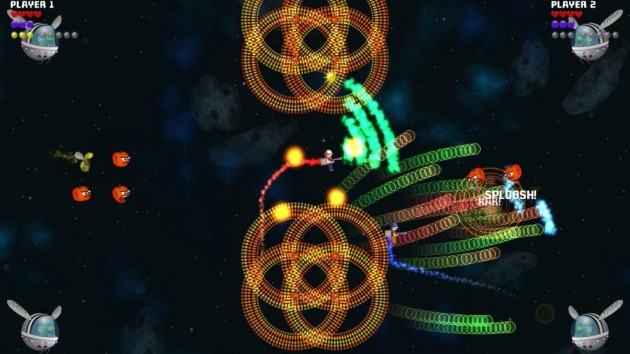 Like many twin stick shooters, you can't tell what's going on in Sherbet Thieves just from screen shots.