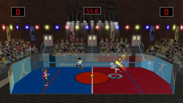 Yep, that's Dodgeball. Look at it, all Dodgebally.