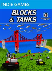 Blocks and Tanks was developed by Maximinus Games (80 Microsoft Points wish the build-gun worked better on water in the making of this review.)