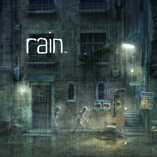I am absolutely worried sick that I won't be able to play Rain.  I would guess the game will feature lightning effects, which are typically the cause for those bright, screen-wide strobes that set off seizures in me.  Will I be heartbroken if Rain turns out to be off limits?  Yes.  Is it the end of the world?  No way.  There are thousands of games that aren't off-limits to me.  In that sense, I'm extremely lucky.  Some people can't play games at all.