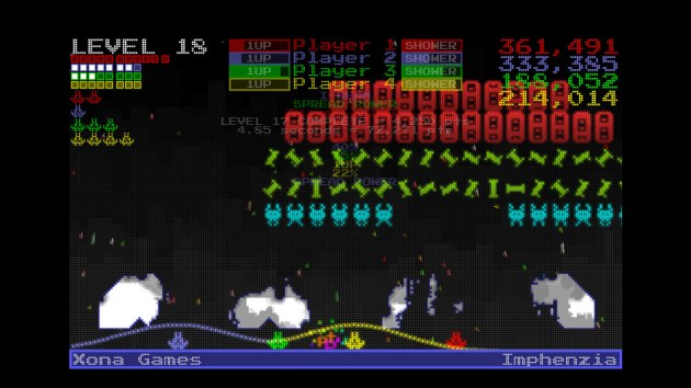From this, you can tell that I was clearly off my rocker for assuming this game was an attempt at doing a $1 XBLIG version of Space Invaders Extreme. What was I thinking?