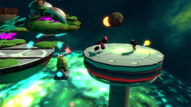 Iota looks really good.. for an XBLIG. But typically, really good XBLIGs would look merely decent on Sega Dreamcast.