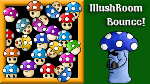 Mushroom bounce logo