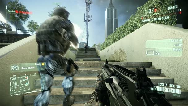 For people like Gordon, you can forget about using radar in Crysis 2.