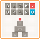 "Blok Drop U was developed by RCMADIAX ($1.99 said the developer is paying for the word ""Block"" in monthly installments and will finally pay off the letter ""C"" sometime in 2015 in the making of this review)"