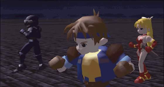 Then again, being on Nintendo platforms seems to have an uncanny ability to uncoolify just about anything. This is an actual screenshot of Final Fantasy VII from its days under Nintendo 64 development. As a friend told me, it looks very........... Nintendo.