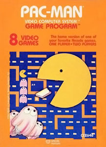 I love the cover art for this. It looks like Pac-Man eating a piece of taffy while being attacked by popsicles with eyeballs.