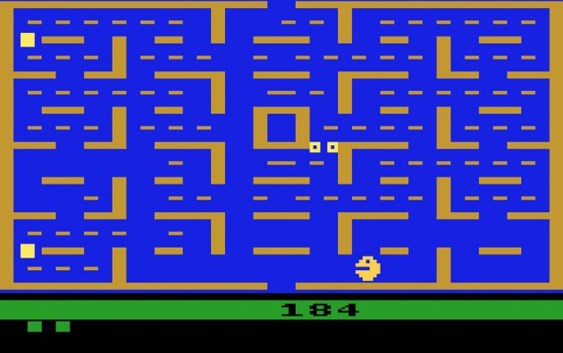 I can't even watch a video of Pac-Man 2600 (or most Atari 2600 titles for that matter) because of my epilepsy. Oh, you mean I'll never be able to play it myself? Oh um, what a shame or something.