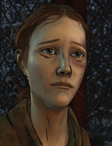 "This is Bonnie. She's the only character from the 400 Days expansion that has a significant role in Season Two. All the other characters make very brief cameos, assuming you played the expasion the ""right way."" Really, what was the point of 400 Days again? I was under the impression that the characters and actions in 400 Days were have some kind of important impact on Season Two. They didn't. Not even Bonnie, really."