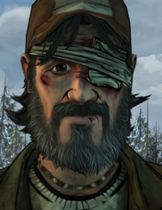 This is Kenny. His mental instability is the overall focus on the season. Maybe the other characters still had a moral compass and believed killing is wrong. Well guess what? I don't! So don't make me wait five fucking chapters to do what's right.