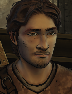 This is Luke. He's one of only two non-Pete characters that I was okay with not killing immediately. He also takes over for Lee in the human train-wreck department. Just looking at him causes his ribs to break. He somehow makes it to the final chapter, where he dies after falling through the ice of a frozen lake. Given that this is one of the only characters that had a proper build-up, his death was very anti-climatic, but hey, we had to have another reason for Kenny to beat up someone while the rest of the group pondered whether he was losing it.
