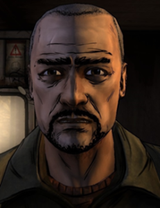 This is Pete. He's the leader of the group of survivors that you meet up with in the first chapter. He's intelligent, insightful, and the only person holding the group's mental stability together. In other words, he's dead meat.