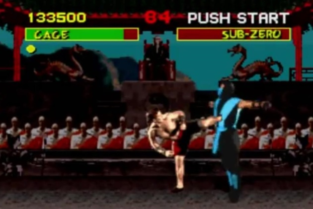 I mean, really, look at it. Johnny Cage's fatality on the SNES version looks like a clipping glitch. Hell, maybe it was and they just ran with it.
