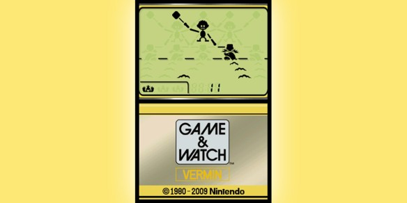 LCD Games of the 80s: Part Three (Game & Watch DSiWare